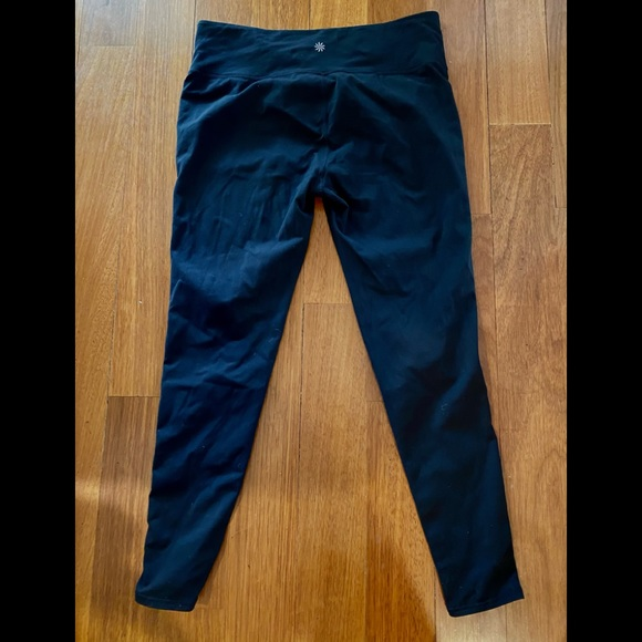 ATHLETA High Waist Black Workout Pant XL